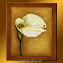 Modern Handmade Abstract Simple Decorative Flower Painting