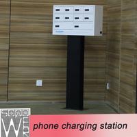 mobile phone charging station 9 docks 2014 new design public mobile phone charging station for samsung