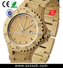 Hot sale factory price BEWELL wooden watch ,high quality with Miyota movment