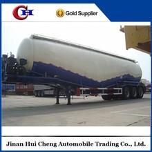 cement bulk tanker semi trailer/bulk cement tanker for Vietnam/ Myanmar
