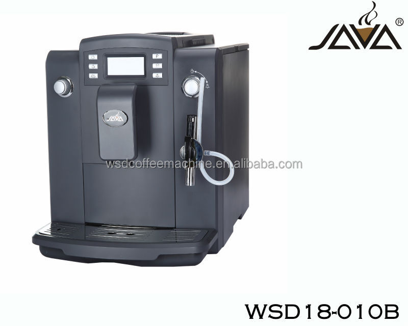 Commercial Automatic Coffee Maker ~ Commercial automatic cappuccino coffee maker with big lcd