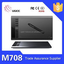 Ugee M708 PC Drawing Board Signature Pad 10*6 Inch USB Connect 2048 Pressure Sensitive