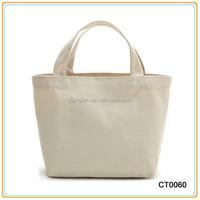 Best Seller Fashion Folding Canvas Beach Bag Blank Cotton Bag