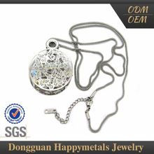 Excellent Quality Promotional Price Stainless Steel Designer Delicate Diamond Necklace Set Jewelry