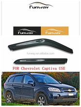 CAR DOOR VISOR RAIN DEFLECTOR FOR Chevrolet Captiva USE