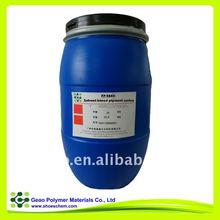 leather chemical of PP9800 solvent-based pigment series for leather finishing