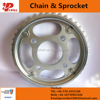 Best quality China supplier motorcycle chain sprocket