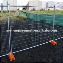 Top Quality New Design PVC/Vinyl/Plastic Outdoor Portable/Temporary Fence(delivery fast/factory price)