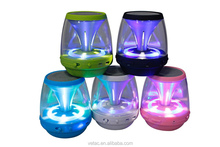 subwoofer mini bluetooth speaker with 7 colors led light