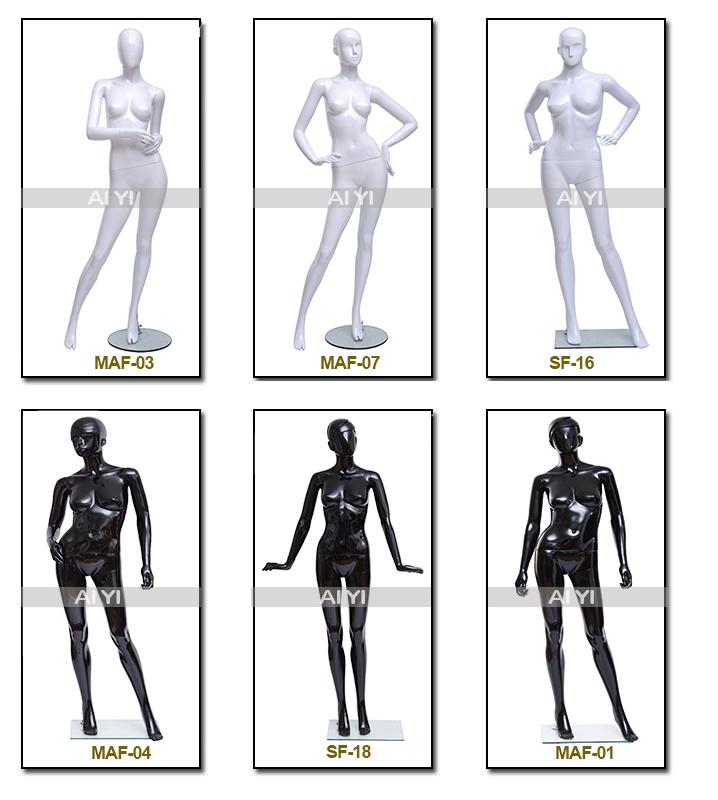 Pas cher fantôme du haut du corps féminin mannequin pièces