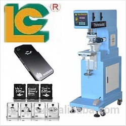one color closed ink cup cell phone case and mobile phone skin pad printing machine for sale