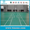 Colorful pvc flooring for sports court
