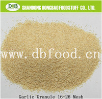 Dehydrated Garlic Granules 40-80mesh Roasted