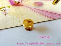DIY luggage leather handbags bags hardware fittings all copper screw surface diameter 1.1cm colors
