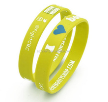Top grade hot sale gifts popular silicone slap wristband