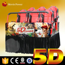 Special effects simulator 5d cinema film for sale