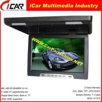"""Manufacture! 19"""" 12v/24v optional FM IR USB/SD MP5 TV ceiling digital tv"""