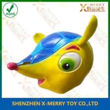 X-MERRY mysterious fox cartoon latex mask kids party cartoon colorful animal mask