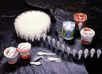 plastic spoon wrapping machine