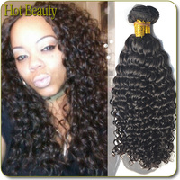 Hot Beauty Pure Virgin Brazilian Deepwave Hair 70 300g Excellent Hair