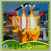 Personalizado de salto de canguru botas / vender salto canguru passeios / diversões canguru para crianças