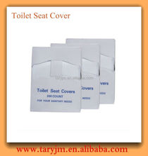 Toilet paper seat cover, disposable travel packed toilet seat covers easily carrying