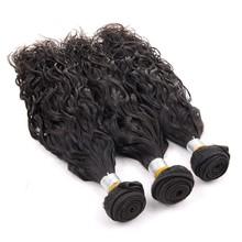 "100 human hair virgin peruvian hair natural wave 12""14""16"""