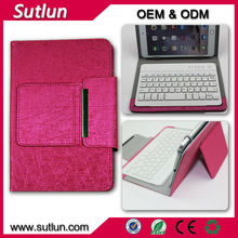 7 7.85 7.9 8 9 9.7 10 10.1 inch Universal belt clip bluetooth wireless keyboard PC leather case for Android windows IOS tablet