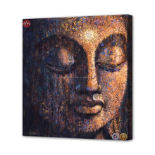 Dropshipping buddha oil painting on canvas art