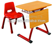 2015 Hot Sell Single Seat Classroom Desk for Kids/ Kids Furniture/Classroom Tables