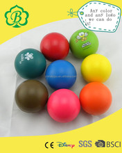 Promotional Custom solid anti stress ball, pu foam ball