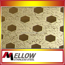 Mellow 304 Stainless Steel Sheet Pvd Colored 8K Coating 304/201