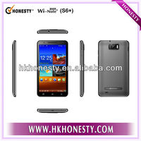 6 Inch MTK 6577 dual core Android 4.1.1 OS 3G smart phone MTK6577