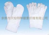 Glass fiber gloves