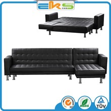 FABRIC UPHOLSTERED PU PVC LEATHER MODERN LIVING ROOM ITALIAN CORNOR MULTIFUNCTIONAL SOFA BED