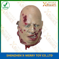 X-MERRY Only Body Part Of Human Scream Prop Pain Neck Severed Head Haunted House Toy Halloween Decoration