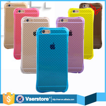 New design skid resistance free sample waterproof phone case for iphone 6 soft case tpu