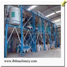 New Condition and Engineers available to service machinery overseas After-sales Service Provided flour mill