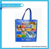 Wholesale reusable promotional cheap customized printed non-woven 4 bottle bag