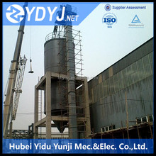 Sleeve roller chain bucket elevator for lifting stone