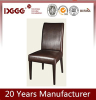 Hot Sale European metal Frame upholstered chair used restaurant table and chair