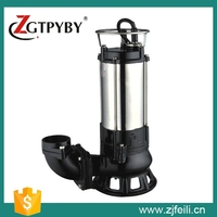 04 EP 1hp Float Switch Submersible Sewage Pump with Square Flange Sewage Water Pump