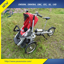 newest High Quality mother and baby bike electric baby stroller tricycle foldable