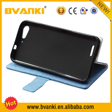 Hot sale mobile phone accessory for ZTE Blade S6 Lux Q7 folio leather cover for zte blade s6 pu leather wallet case folio cover