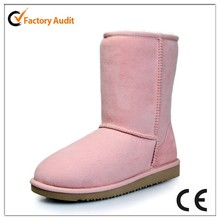 pink girl's snow boot