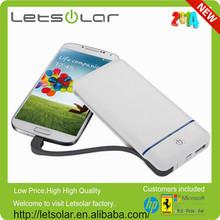 china fabricación letsolar precio de fábrica 5v 2a nuevo estilo inalámbrica del teléfono móvil cargador de batería