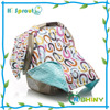 Hot Sales 100% Cotton Two Layers Baby Car Seat Canopy