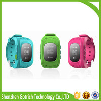 Fashion android smart watch for kid gps track watch phone