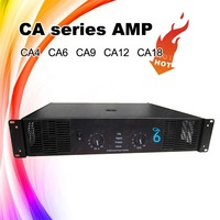 H Class Professional CA6 Stereo Power Amplifier