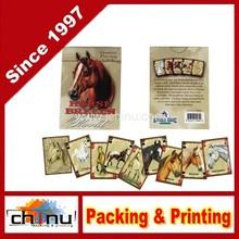 Cavalo raças do mundo cartões de jogo